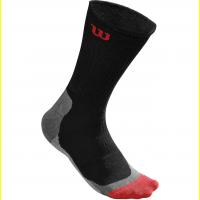 Носки с длинной резинкой WILSON MEN`S HIGH-END CREW SOCK (WRA511701), black, р. 43 - 46