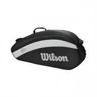Чехол для теннисных ракеток WILSON FEDERER TEAM x 3 BLACK (WR8005801001)