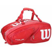 Чехол для теннисных ракеток WILSON TOUR V 15 red (WRZ867615)