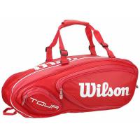 Чехол для теннисных ракеток WILSON TOUR V 9 red (WRZ847609)