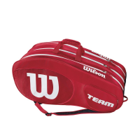 Чехол для теннисных ракеток WILSON TEAM III x 12 RED (WRZ857812)