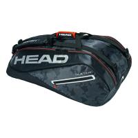 Чехол для теннисных ракеток HEAD TOUR TEAM 9R SUPERCOMBI (2019) BLACK SILVER