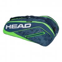 Чехол для теннисных ракеток HEAD TOUR TEAM 6R COMBI (2018) NVGE