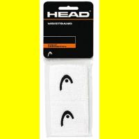 Напульсники узкие HEAD WRISTBAND (white)