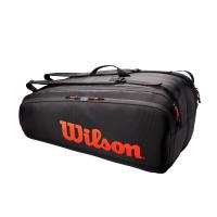 Чехол для теннисных ракеток WILSON TOUR 12PK RD/BLACK (WR8011201001)