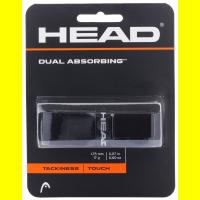 Основной грип HEAD DUAL ABSORBING (black)