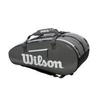 Чехол для теннисных ракеток WILSON SUPERTOUR 3 COMP BKGY (WRZ843915)