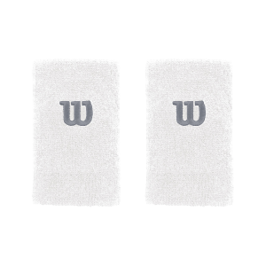 Напульсники широкие WILSON EXTRA WIDE WRISTBAND (white)