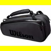 Чехол для теннисных ракеток WILSON SUPER TOUR 9 PK PRO STAFF black (WR8010601001)