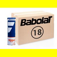 Коробка мячей BABOLAT TEAM CLAY COURT (72 мяча)