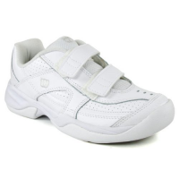 Кроссовки детские WILSON ADVANTAGE COURT IV VELCRO JUNIOR (white/silver)