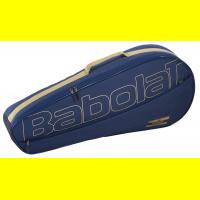 Чехол для теннисных ракеток BABOLAT ESSENTIAL DARK BLUE RH x 3 (2021)