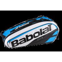 Чехол для теннисных ракеток BABOLAT PURE x 6 (blue white)
