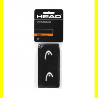 Напульсники узкие HEAD WRISTBAND (black)