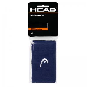 Напульсники широкие HEAD WRISTBAND (blue)
