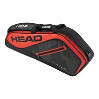 Чехол для теннисных ракеток HEAD TOUR TEAM 3R BLACK - RED (2017)
