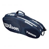 Чехол для теннисных ракеток WILSON TEAM III x 6 BLUE (WRZ850806)