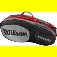 Чехол для теннисных ракеток WILSON TEAM III x 6 BLACK (WRZ853806)