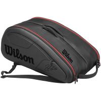 Чехол для теннисных ракеток WILSON FEDERER DNA 12 black (WRZ832712)