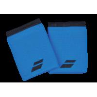 Напульсники широкие BABOLAT LOGO JUMBO WRISTBAND (blue)