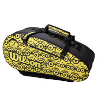 Чехол для теннисных ракеток WILSON MINIONS TOUR 12PK BLACK/YELLOW (WR8013701001)
