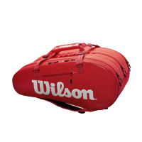 Чехол для теннисных ракеток WILSON SUPERTOUR 3 COMP SMALL RED (WRZ840815)