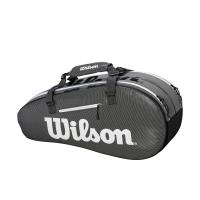 Чехол для теннисных ракеток WILSON SUPERTOUR 2 COMP SMALL BKGY (WRZ843906)
