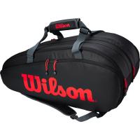 Чехол для теннисных ракеток WILSON TOUR 3 COMP CLASH BKRDGRAY (WR8005001001)