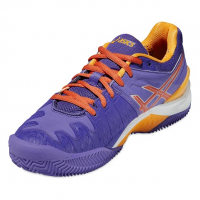 Кроссовки женские теннисные ASICS GEL-RESOLUTION 6 CLAY (E553Y-3306)