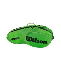 Чехол для теннисных ракеток WILSON TEAM III x 6 GREEN (WRZ854806)