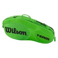 Чехол для теннисных ракеток WILSON TEAM III x 3 GREEN (WRZ854803)