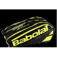 Чехол для теннисных ракеток BABOLAT PURE x 12 (black fluo yellow)