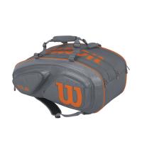 Чехол для теннисных ракеток WILSON TOUR V 15 grey (WRZ841715)