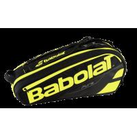 Чехол для теннисных ракеток BABOLAT PURE x 6 (black fluo yellow)