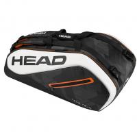 Чехол для теннисных ракеток HEAD TOUR TEAM 9R SUPERCOMBI (2017) BLACK