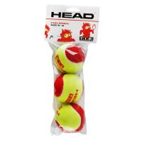 Мячи для тенниса детские Head T.I.P. RED (упаковка - 3 мяча)