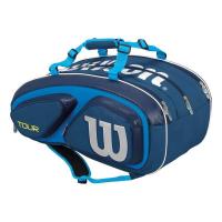 Чехол для теннисных ракеток WILSON TOUR V 15 blue (WRZ843615)