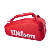 Чехол для теннисных ракеток WILSON SUPER TOUR 9 PK RD (WR8010501001)