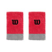 Напульсники широкие WILSON EXTRA WIDE WRISTBAND (infrared/alloy)