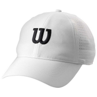 Кепка WILSON ULTRALIGHT TENNIS CAP WHITE (WRA777101)