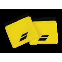Напульсники узкие BABOLAT LOGO WRISTBAND (yellow)